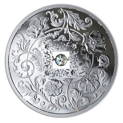 1 Dollar Uhren & Schmuck Hell Sehr Filigraner Münzanhänger Mit Eisenbahn Silber